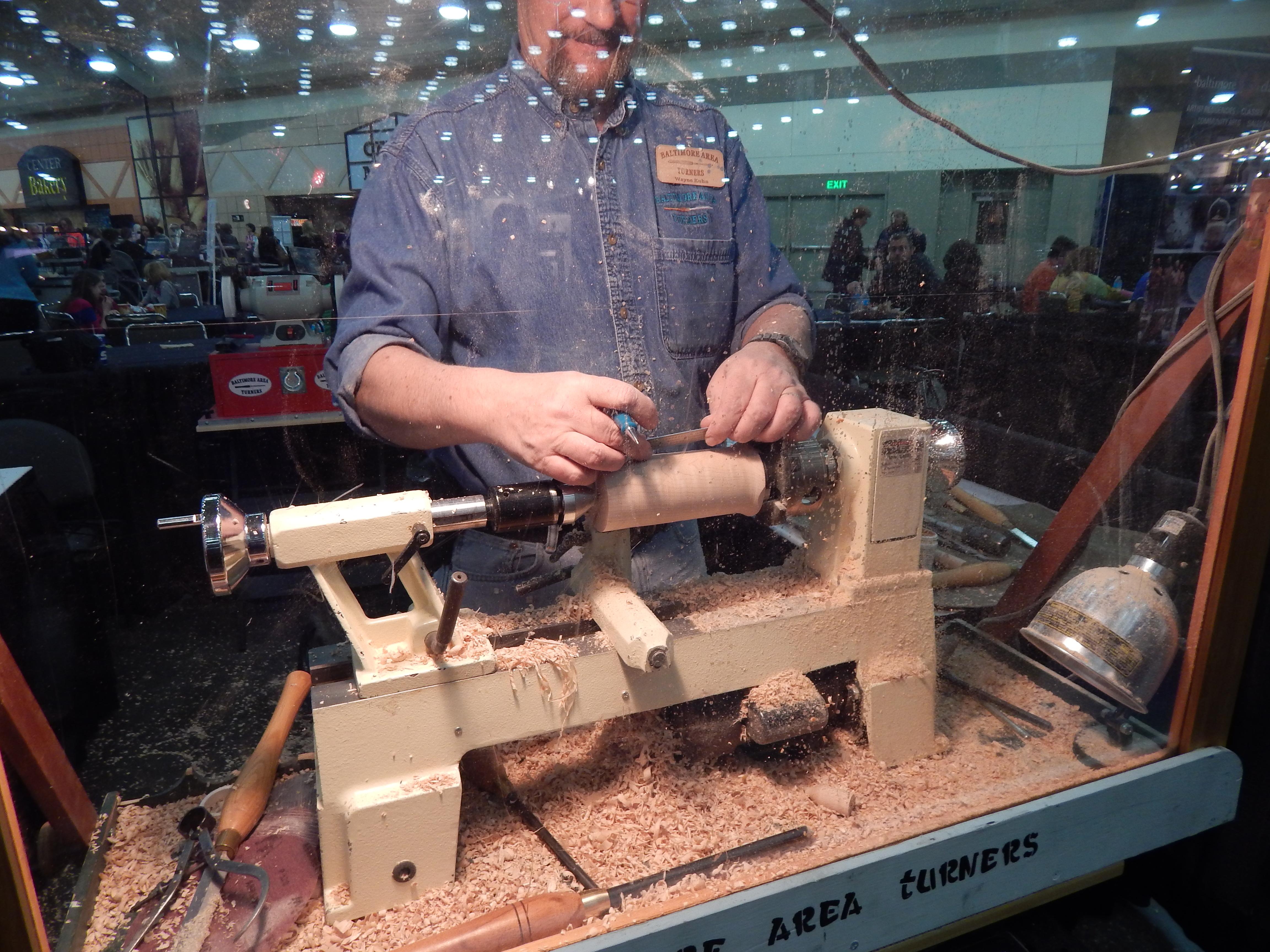 Craft supplies woodturning