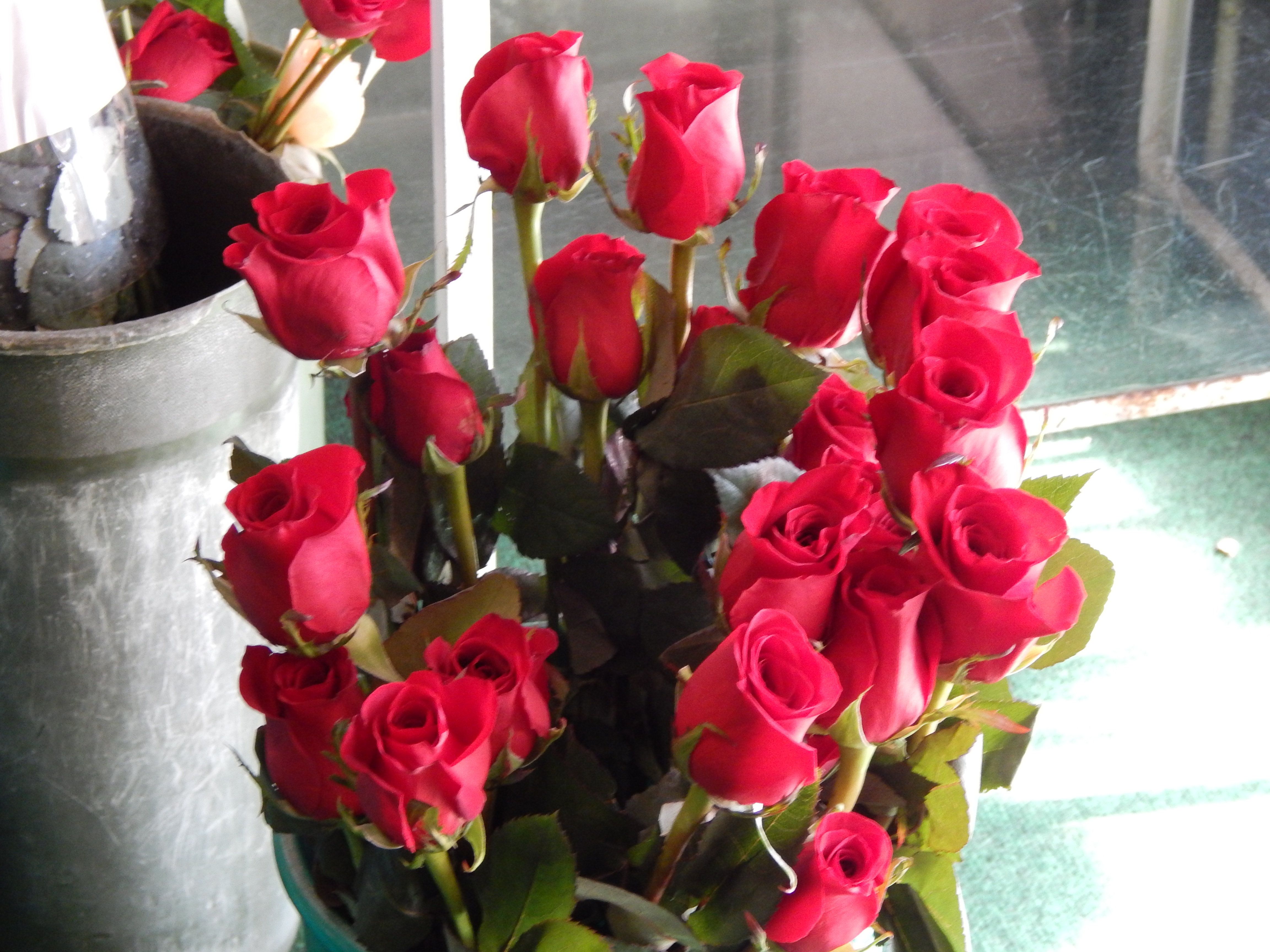 Red roses and flowers for st valentines day colonial florist rose are red a symbol of love this saturday is st valentines day and colonial florist is ready they have ordered thousands of roses for the holiday buycottarizona